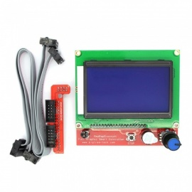 32-Inches-128x64-Display-LCD-12864-3D-Printer-Controller-With-Adapter-Green