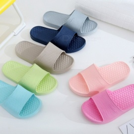 Summer Indoor Anti-slip Bathing Shoes For Women Solid Color Concise EVA  Soft Flat Sandals 6706d818a74