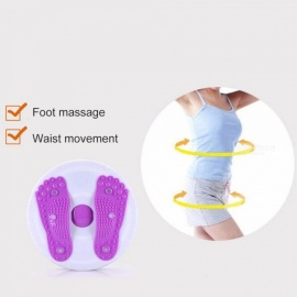 Sports-Waist-Body-Foot-Massage-Disc-Twist-Board-Balance-Aerobic-Exercise-Waist-Twister-Round-Plate-(Random-Color)-Random-Color