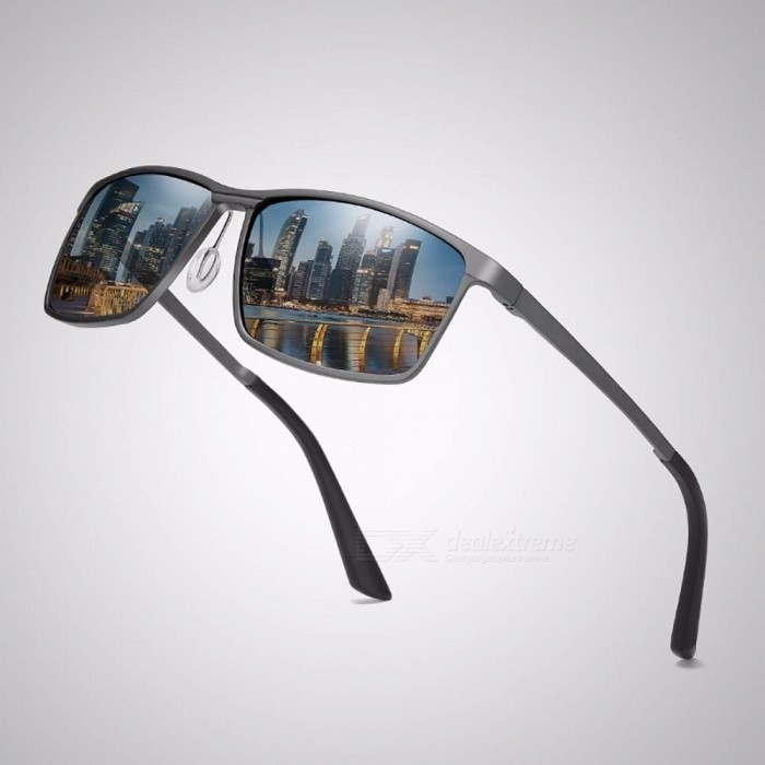 High-Quality-Mens-Aluminum-magnesium-Polarized-Sunglasses-Sports-Coated-Driving-Traveling-Sun-Glasses-Black