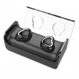 Dual-Ear-Wireless-with-Charging-Bin-Mini-in-ear-50-Bluetooth-Headset