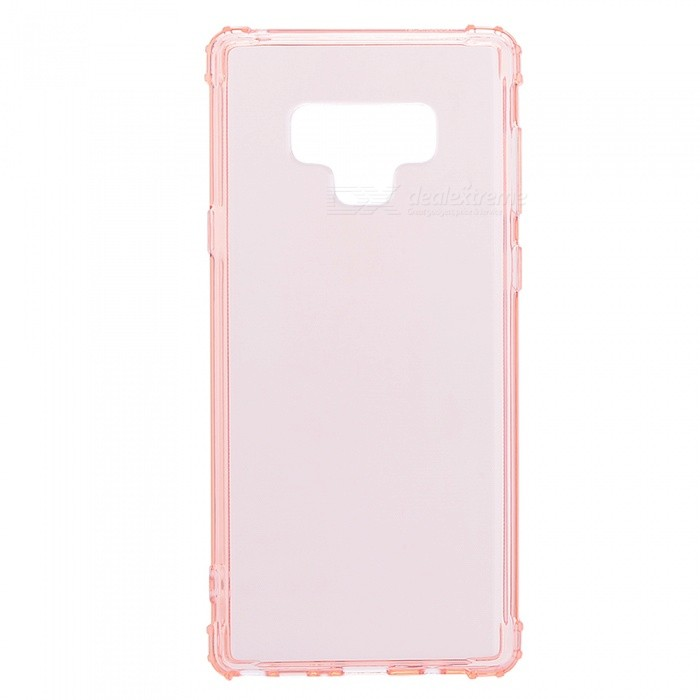 Mini Smile Anti-Falling Shockproof Clear Transparent Soft Flexible TPU Back Cover Case for Samsung Galaxy Note 9