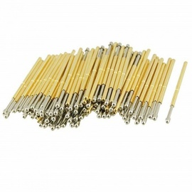 BTOOMET 100Pcs 9100D 1.5mm Spherical Radius Tip Dia Spring Test Probes Pins
