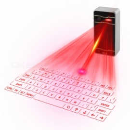 ZHAOYAO bluetooth láser teclado inalámbrico teclado de proyección virtual para iphone android teléfono inteligente ipad tableta PC portátil