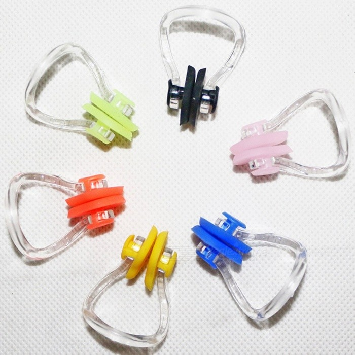 Soft Silicone Swimming Nose Clips Pool Water Sports Accessories