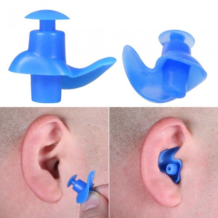 Waterproof Dust-Proof Ear Plugs Soft Silicone Earplugs Swim Accessories