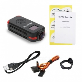 HAWK-EYE Original Hawkeye Firefly Q6 4K HD FPV Aerial Camcorder 120° Wide Angle Action Camera Black/Yellow