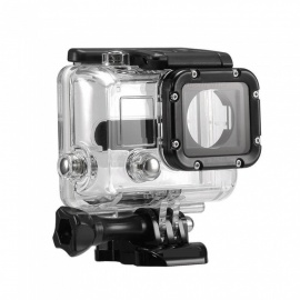 XSUNI Waterproof Enclosure Case Underwater Diving Shell Box Protective Cover for GoPro Hero 3 Accessories