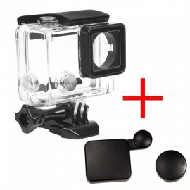 XSUNI Waterproof Enclosure Case, Underwater Diving Shell Box, Protective Cover for GoPro Hero 3+ 4 Accessories