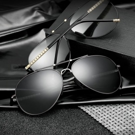 High-End-Classic-Fashion-Polarized-Sunglasses-UV400-Protection-Driving-Sun-Glasses-Eyewear-Goggles-For-Men-Black