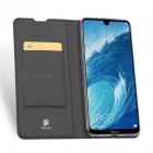 Business Mobile Phone PU Leather Flip Case Protective Sleeve With Card Pocket For Huawei HONOR 8X Black