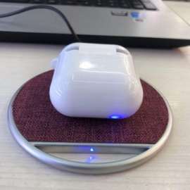 New Apple Airpods Earbuds Wireless Charging Case