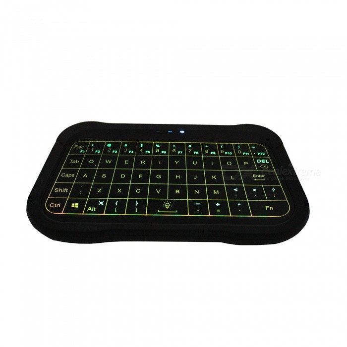 T18 2 4GHz Wireless Keyboard, Air Mouse Touchpad Handheld Backlight  Controller for TV BOX Mini PC