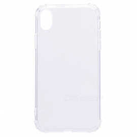 Mini Smile Anti-Falling Shockproof Clear Transparent Soft Flexible TPU Back Cover Case for IPHONE XR