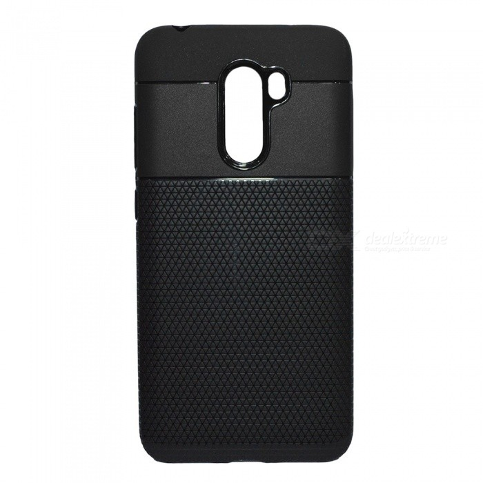 ... Protective TPU Back Case Cover for Xiaomi Pocophone F1 - Black ...