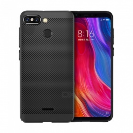 Ultra-thin Micropore Mesh Back Case for Xiaomi Redmi 6/6A - Black