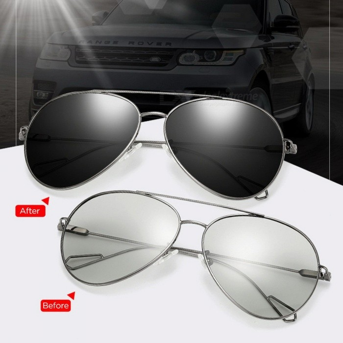 Outdoor-Driving-Travel-UV400-Protection-Fashion-Stainless-Steel-Frame-Resin-Lens-Polarized-Sunglasses-BrownBlack