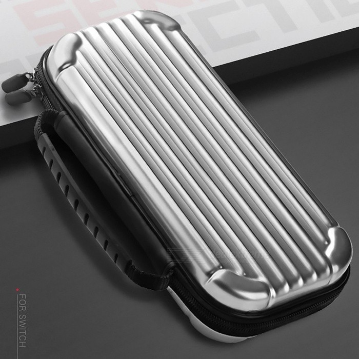 Protective Hard Case For Nintendo Switch Shockproof Game Console Storage Bag Silver