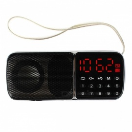 Mega Bass FM Radio Receptor Mp3 Reproductor Multimedia Altavoz