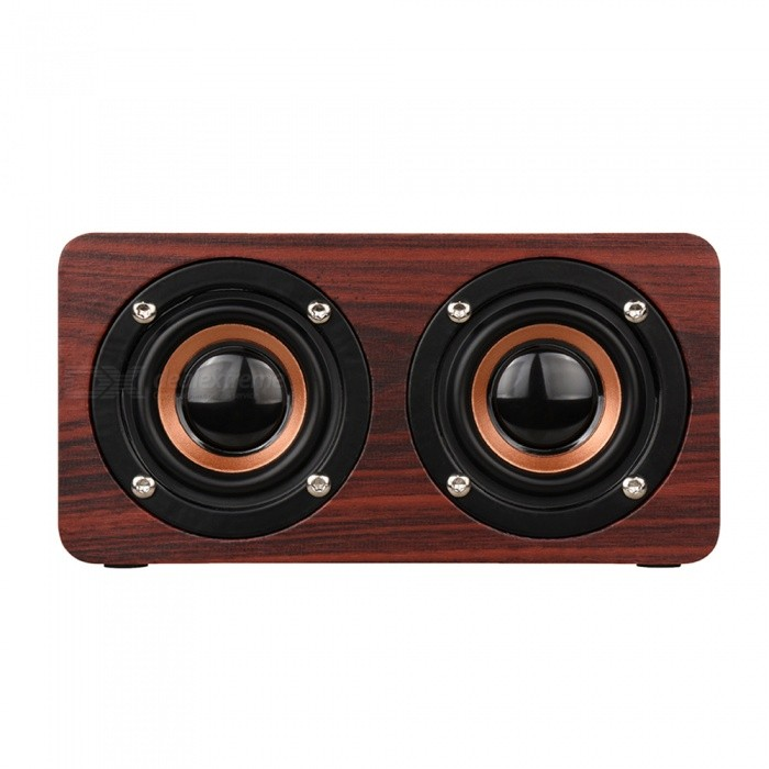 Rosewood-Wood-Bluetooth-Stereo-Speaker-Support-TF-Card