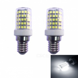 JRLED E14 10W Cold White 2835 SMD 86-LED Light Bulb Dimmber LED Lamp, AC 230V