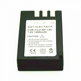 The Camera Lithium Battery NP-140 7.4V 1400mAh is Suitable for Fuji Camera Black