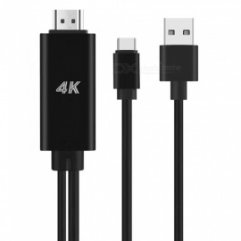 USB Typ C 3.1 zu HDMI Kabel Adapter 4K USB C HDMI Konverter mit USB Power Port für MacBook Samsung Galaxie S8 S9 Huawei Mate 10