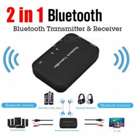 VRrobot Bluetooth V 4-1 Transmitter and Receiver, Stereo Music 3.5mm HiFi USB Car Adapter
