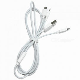 120cm 3-in-1 Fast Charging Cable Support 2A Current for SamSung / IPHONE 8 / X / XiaoMi / HuaWei