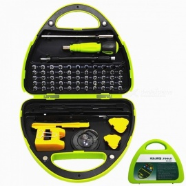 NO.8934 Multi-Function Precision Screwdriver Combination Tool Box (67 Pieces) for Repair / Fix