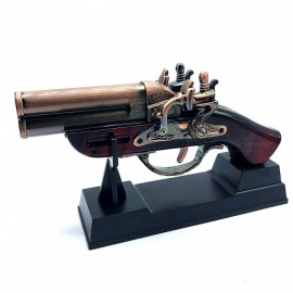 Imitation of Restoring Ancient Ways the Pistol Model Military Collection Furnishing Articles Lighters