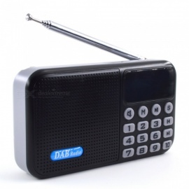 JEDX pride & pound UKW-Digitalradio tragbarer All-in-One-DAB-Digitalradio-Bluetooth-Lautsprecher + DAB + FM + MP3