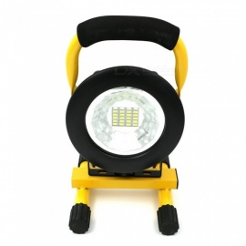 20+4LED Strong Lawn Light High Power Work Lights USB Rechargeable Waterproof Environmental Lighting Yellow