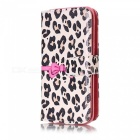 ESAMACT Flip Cover Case Leather Phone Back Housing Shell for LG X Power