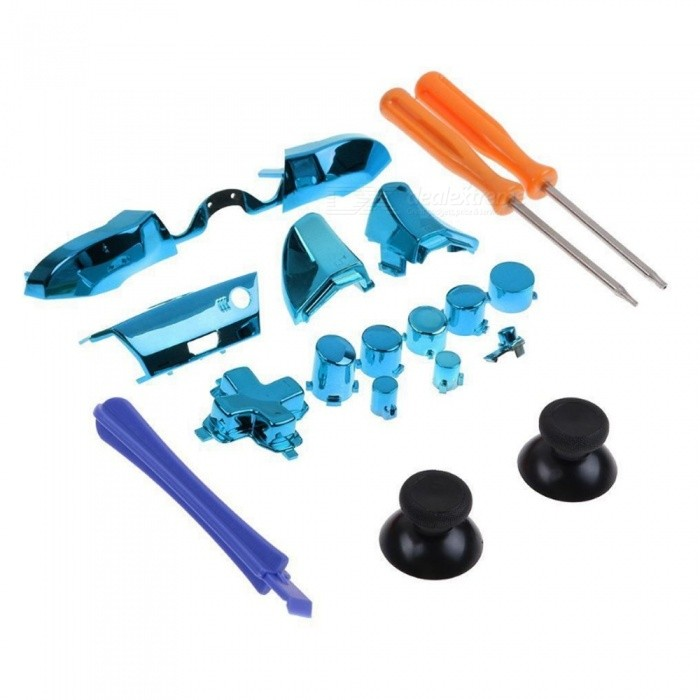 Plating Handle And Other Parts Accessories Kit With Screwdriver For XBOX  ONE Elite Gold