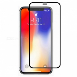 Hat-Prince Full Coverage Full Glue Tempered Glass Film Protector for iPhone XR