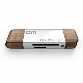 Multi-function Four in One USB 3.0/ Type-c SD+TF Card Reader Supports Simultaneous Reading of Mutual Copy