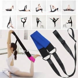 Women Ballet Soft Opening Band Dance Training Tension Belt Girls Stretching Ballet Band Yoga Resistance Bands Black