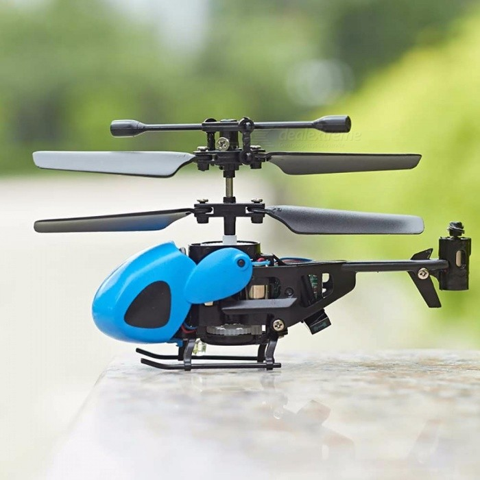 QS5013 Mini RC Helicopter 2.5 Channels Super Resistance Remote Control Children Model Airplanes Toys Black