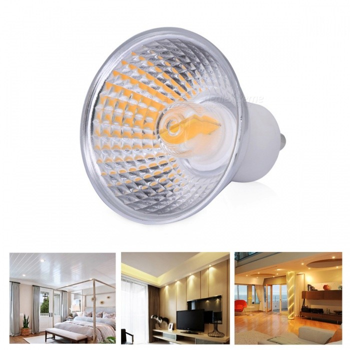 Dx coupon: YWXLight GU10 1219 COB Warm White Lamp The Lamp Cup Dimmable