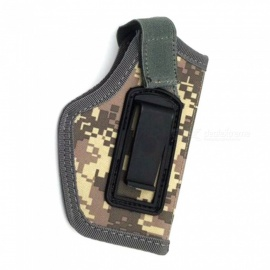 Outdoor Tactical Equipment IWB Concealed Tactical Holster Small Waist Sleeve for CS Field Game Playing