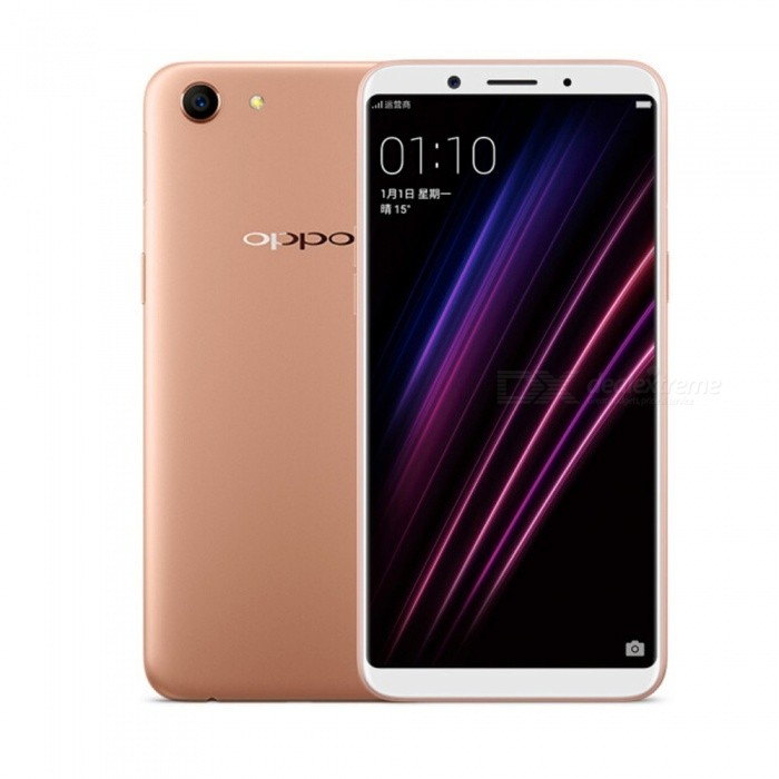 OPPO A1 Dual SIM Dual Standby Full Screen 4G Camera Phone With 3GB RAM, 32GB ROM Champagne
