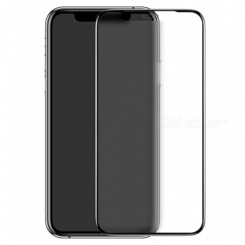 Benks V PRO Forsted Full Size Tempered Glass Screen Protector with 3D curved edge for iPhone XS Max 6.5 Black