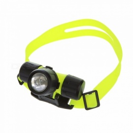 LED Diving Headlamps 18650/3AAA Double Use Battery Outdoor Lighting Waterproof Strong Lights White/Yellow