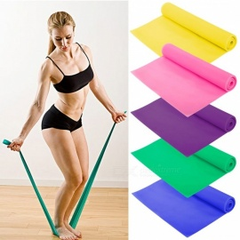 Pull Circle Fitness Rally With Resistance Band Yoga Belts Piece Latex Elastic Band Training Equipment 2m Blue