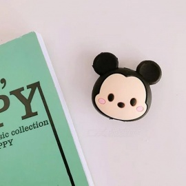 Cute Lovely Cartoon Animal Shape Anti-Broken Silicone Rubber Data Cable Case Cover Protector For IPHONE green