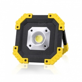 Portable USB Rechargeable 20W COB LED Work Light, Car Maintenance Inspection Light, Lawn Lamp White
