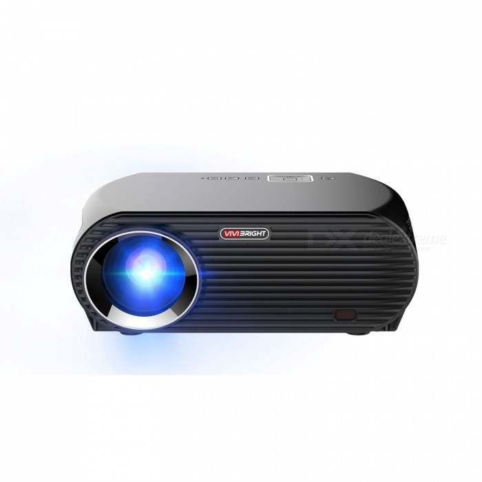 VIVIBRIHGT GP100UP Video Projector 3200 Lumens Android 6.0.1 WIFI Bluetooth