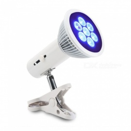 E27 LED Grow Light Full Spectrum Desk Clip Plant Lamp 360 Degree Rotation Growing Lamp For Indoor Plants Grow White