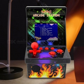 Mini Arcade Retro Machines With Joystick 200 Classic Handheld Video Games Players Portable Gaming System Black